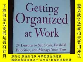 二手書博民逛書店Getting罕見Organized at workY14681