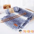 手工編織圍巾自織粗毛線團段染漸變diy材料包【淘嘟嘟】