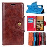 三星 Note10 Lite Note10+ Note9 銅釦牛紋 手機皮套 插卡 支架 皮套 內軟殼 掀蓋殼