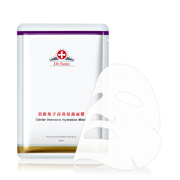 Dr. Satin 魚子 頂級魚子高效保濕面膜 (3入) 【杏一】