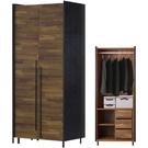衣櫃 衣櫥 SB-528-1 畢卡索2.6尺雙色單吊衣櫃【大眾家居舘】