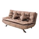 【采桔家居】卡納 時尚絲絨布多段式機能沙發/沙發床(多段式變化設計)