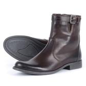 【東門城】V'QUATTRO CHES TNUT 防水防刮時尚車靴 (咖啡)