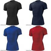 MIZUNO BIO GEAR 圓領短袖緊身衣 運動上衣 短袖T恤 吸濕排汗 高彈性 32MA1152 21SS
