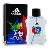 ADIDAS 愛迪達 五人團隊運動男性淡香水(100ml)