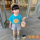 男童短袖t恤夏裝兒童夏季寶寶打底衫純棉半袖薄款上衣【淘嘟嘟】
