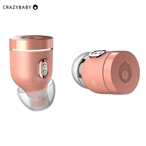 《crazybaby》Air by crazybaby (NANO) 真無線耳機-玫瑰金