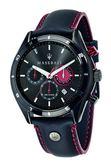 【Maserati 瑪莎拉蒂】/三眼皮帶款(男錶 女錶 手錶 Watch)/R8871624002/台灣總代理原廠公司貨兩年保固