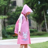 兒童雨衣幼兒園寶寶卡通雨披女童小孩小學生男厚防水套裝帶書包位 居享優品