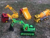 大號慣性兒童工程車玩具套裝運輸挖掘機翻斗車水泥攪拌車模型男孩igo      唯伊時尚