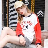 長袖T恤女裝2019春裝新款寬鬆韓版學生洋氣春秋季打底衫上衣服潮