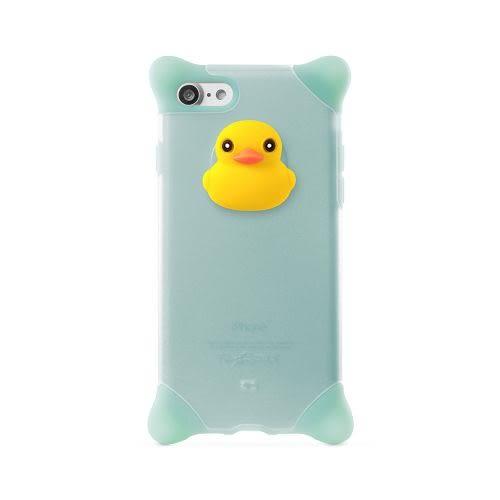Bone iPhone 8 / 7 (4.7) 泡泡保護套 透明藍-鴨子 手機殼