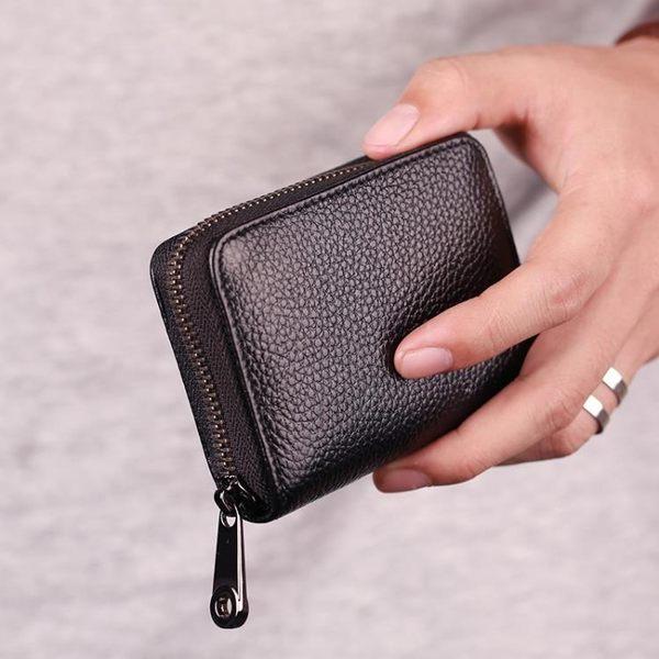 風琴卡包男士駕駛證多卡位卡片袋大容量超薄女式拉錬小錢包卡套   芊惠衣屋