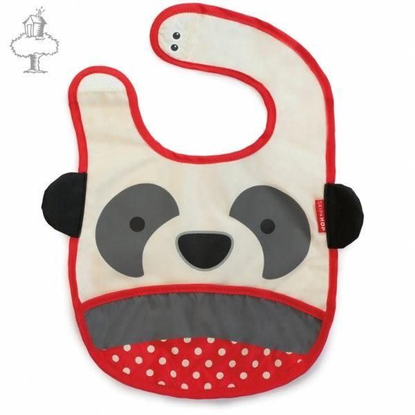 SKIP * HOP 動物j圍兜-長頸鹿、貓咪、鯊魚、熊貓、獨角獸、小牛