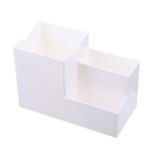 置物盒 整理盒 化妝盒 筆桶 分隔 文具收納 遙控器 化妝品 北歐風 手機支架 收納盒【K132】MY COLOR