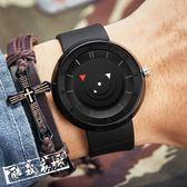 鐘錶/手錶 個性創意無指針概念手錶男中青少年防潑水時尚正韓簡約休閒 酷我衣櫥
