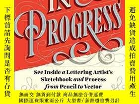 二手書博民逛書店In罕見Progress-進行中Y436638 Jessica Hische Chronicle Books,