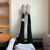 內搭褲女春秋薄灰色緊身運動秋冬褲襪內搭褲【時尚大衣櫥】
