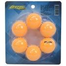 桌球 練習用乒乓球 直徑40mm/一卡6個入(定70)-群DF-FTB22-6
