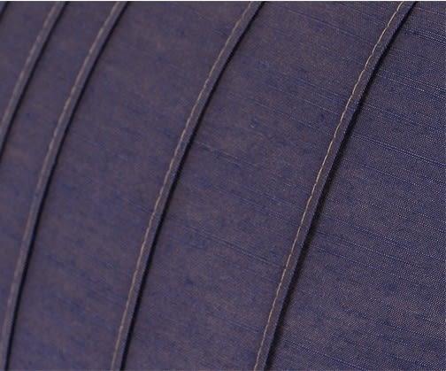 [協貿國際]簡約現代中式/設計師絲質仿真絲靠包靠墊抱枕/紫色立體條紋腰枕