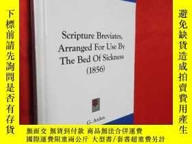 二手書博民逛書店Scripture罕見Breviates Arranged Fo