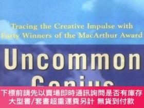 二手書博民逛書店Uncommon罕見Genius: How Great Ideas are Born-非凡的天才:偉大的思想是如何