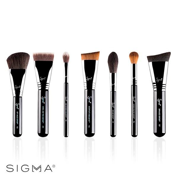 Sigma 打亮修容七件組 Highlight & Contour Brush Set - WBK SHOP