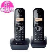 R1【福利品】國際牌數位雙手機無線電話KX-TG1612TW(黑色)