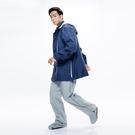 【MORR】Expansion可收納延伸鞋套雨褲【紐約灰】登山/通勤/機車/兩件式