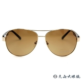 Lee Cooper 偏光太陽眼鏡 飛官款 墨鏡 LE800S C01 金-咖啡 久必大眼鏡