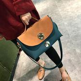 包包女2018新款潮百搭歐美時尚 大氣手提包簡約大包ulzzang斜挎包 後街五號