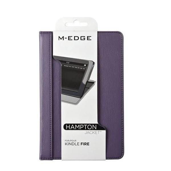 "[9美國直購] M-Edge Hampton 保護套 Folding Case Jacket for Kindle Fire 7"" Purple Plum"