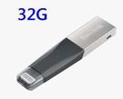 【聖影數位】SanDisk iXPAND APPLE OTG USB 32G 3.0隨身碟 適用iPhone iPad SDIX40N
