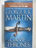 【書寶二手書T6/原文小說_GG6】A Game of Thrones_Martin, George R. R.