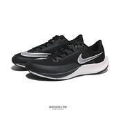 NIKE 慢跑鞋 AIR ZOOM RIVAL FLY 3 黑色 氣墊 訓練 男 (布魯克林) CT2405-001