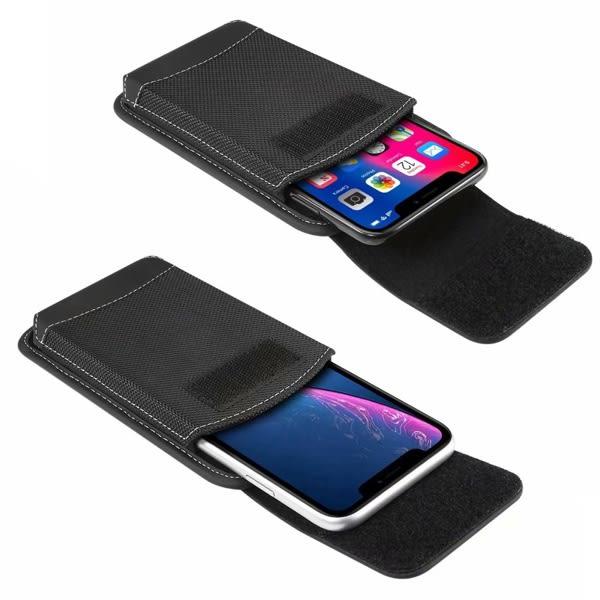 牛津布手機包 5.2吋 5.5吋 6.3吋 6.5吋 掛腰手機包 手機袋 掛腰式手機袋 手機保護袋