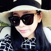 【TT】墨鏡女 明星款眼鏡新款圓形個性太陽鏡女士圓臉韓版男士網紅墨鏡