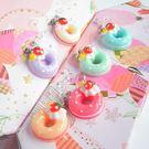 耳環 下午茶幸福甜點 - 草莓甜甜圈系列...