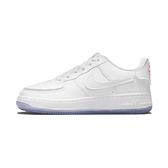 Nike Air Force 1/1 (GS) 大童 白 可拆式貼片 運動 AJ1 休閒鞋 DB1856-100