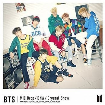 BTS防彈少年團 MIC Drop/DNA/Crystal Snow CD附DVD 初回A盤 免運 (購潮8)