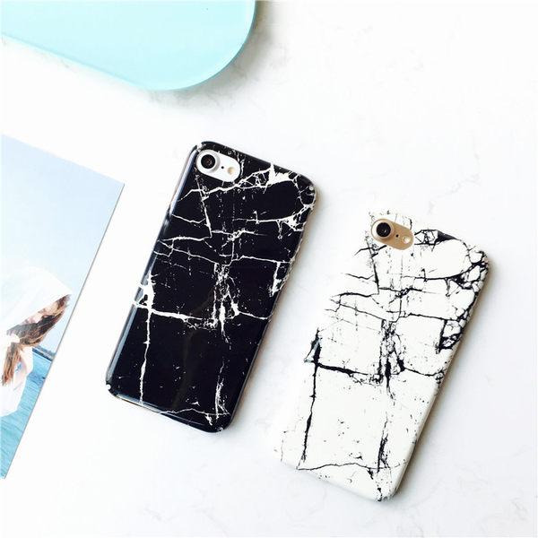 【SZ25】 iPhone 7/8 手機殼 歐美風 大理石紋 全包邊 硬殼 iPhone 7/8 plus 保護殼