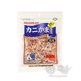 Petland寵物樂園 日本藤澤 天然蟹肉絲/ 貓零食 80g