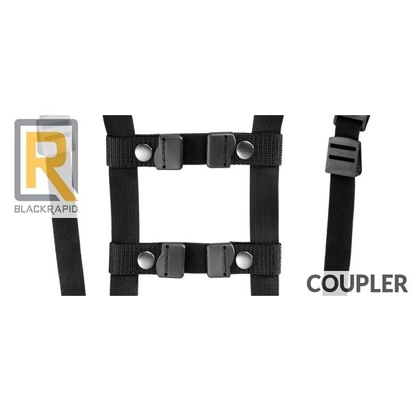 【南紡購物中心】美國Blackrapid快槍俠背帶聯結扣帶連接帶聯接器Coupler連接器適RS-7 RS-5 RS-4