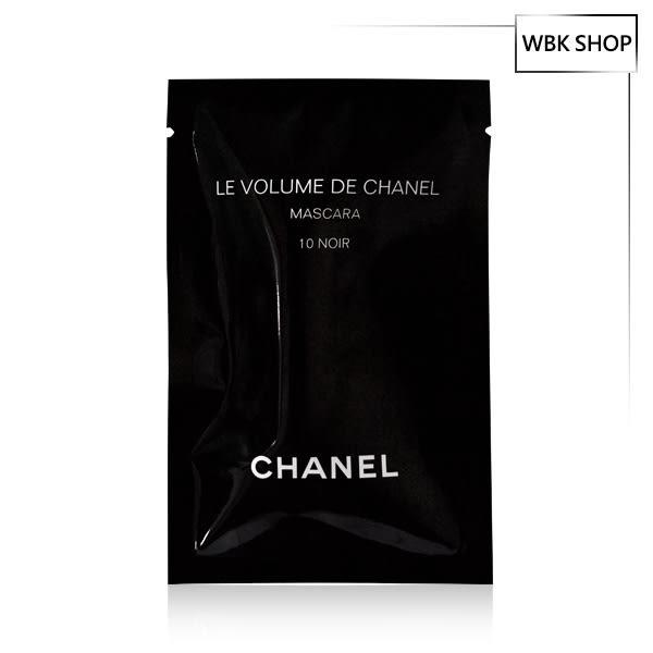 CHANEL 香奈兒 完美比例濃密睫毛膏 #10黑釉 1ml Le Volume De Chanel Mascara - WBK SHOP