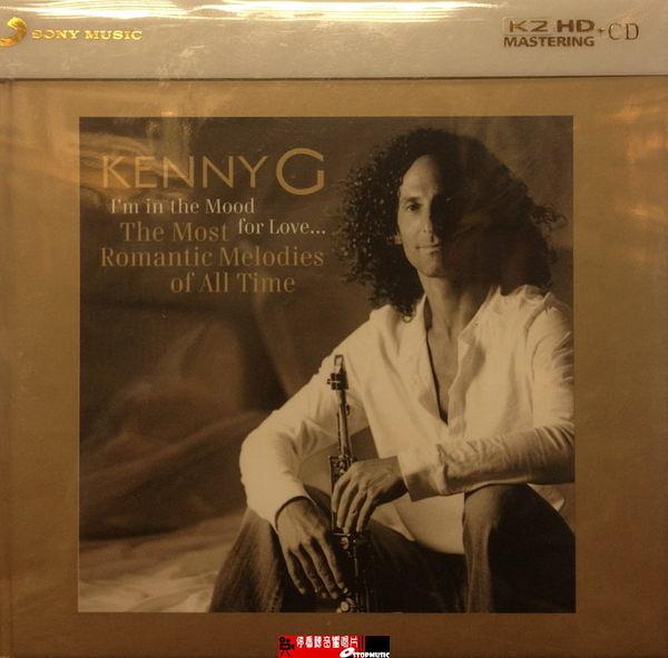【停看聽音響唱片】【K2HD】KENNY G - I'm in the Mood Love...The Most Romantic Melodies of All Time