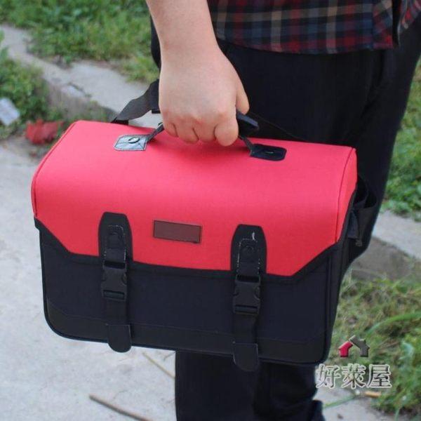 工具箱大號防水美術工具箱 帆布畫箱大容量水粉顏料箱畫畫具收納箱顏料畫箱 交換禮物