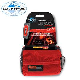丹大戶外用品【SEA TO SUMMIT】單人保暖睡袋內套(極限升溫款)睡袋套/內裏套/保溫套 STSAREACTEX