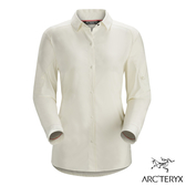 始祖鳥【Arc'teryx】Fernie女長袖排汗襯衫 復古象牙白 15579