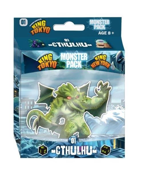 『高雄龐奇桌遊』 東京之王/紐約怪物包 克蘇魯 Monster Pack Cthulhu 英文版 正版桌上遊戲專賣店