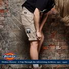 美式DICKIES 工作短褲 中低腰斜紋...